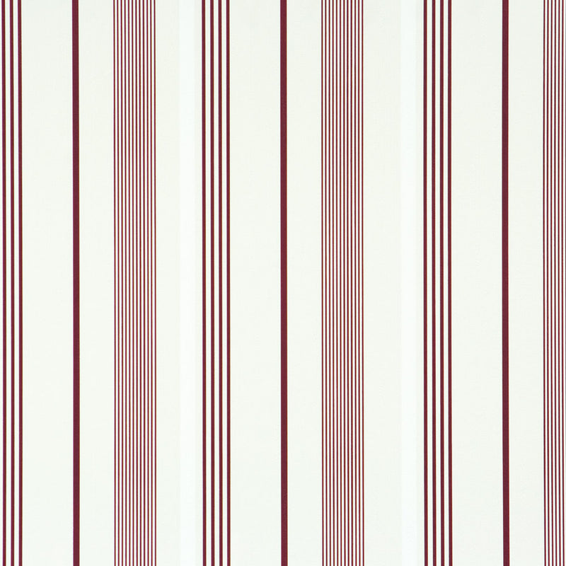 Path Red and Light Blue Striped Wallpaper  SR1250