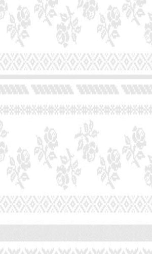 White & Grey Geometric Floral Wallpaper SR1022 | Vintage Home Wallpaper