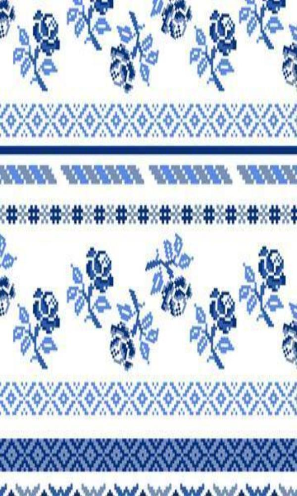 Bright Blue & White SR1028