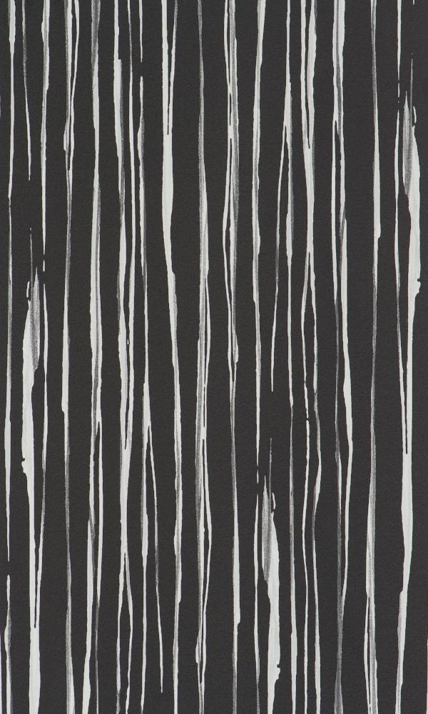 Black Strait Striped Bedroom Wallpaper R2367