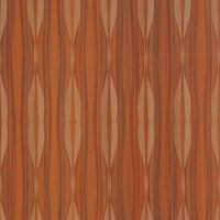 Orange Linear Stripe Wallpaper R2402 | Contemporary Home Interior