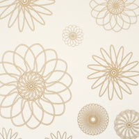 Gold Cluster Geometric Wallpaper R2222