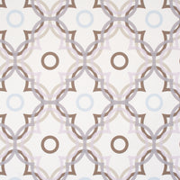 Lilac Ripple Contemporary Floral Wallpaper R2228