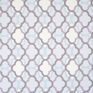 Lilac Billows Geometric Wallpaper R2231