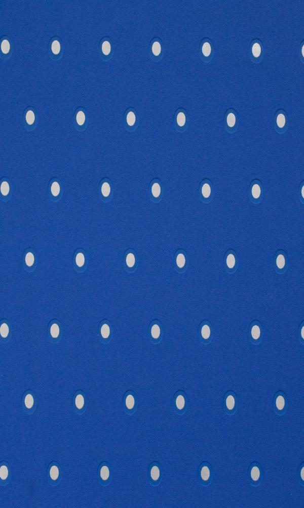 Cerulean Spotted Dotted Wallpaper R2236