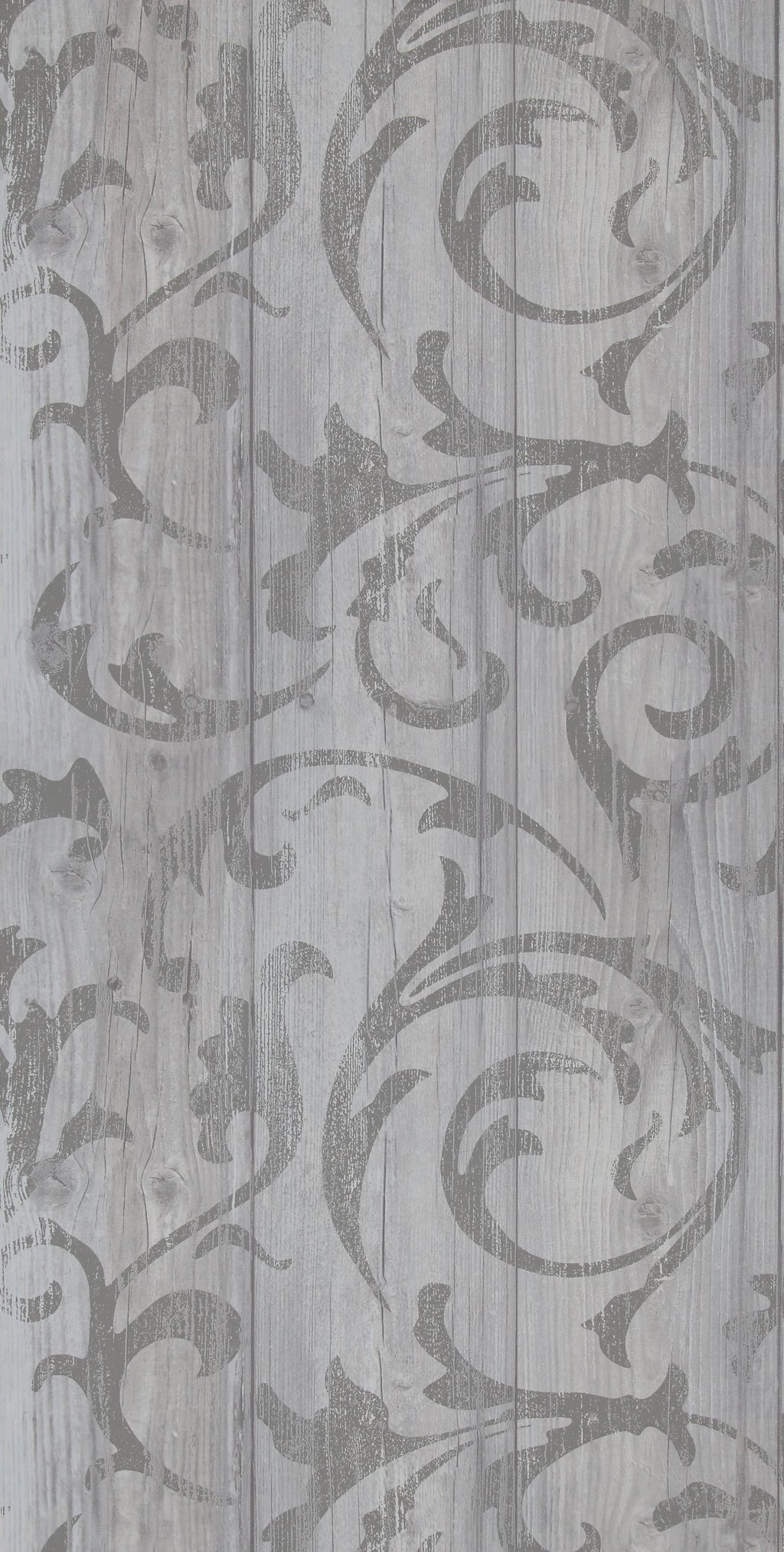 Medium Grey Twisted Wood R2569