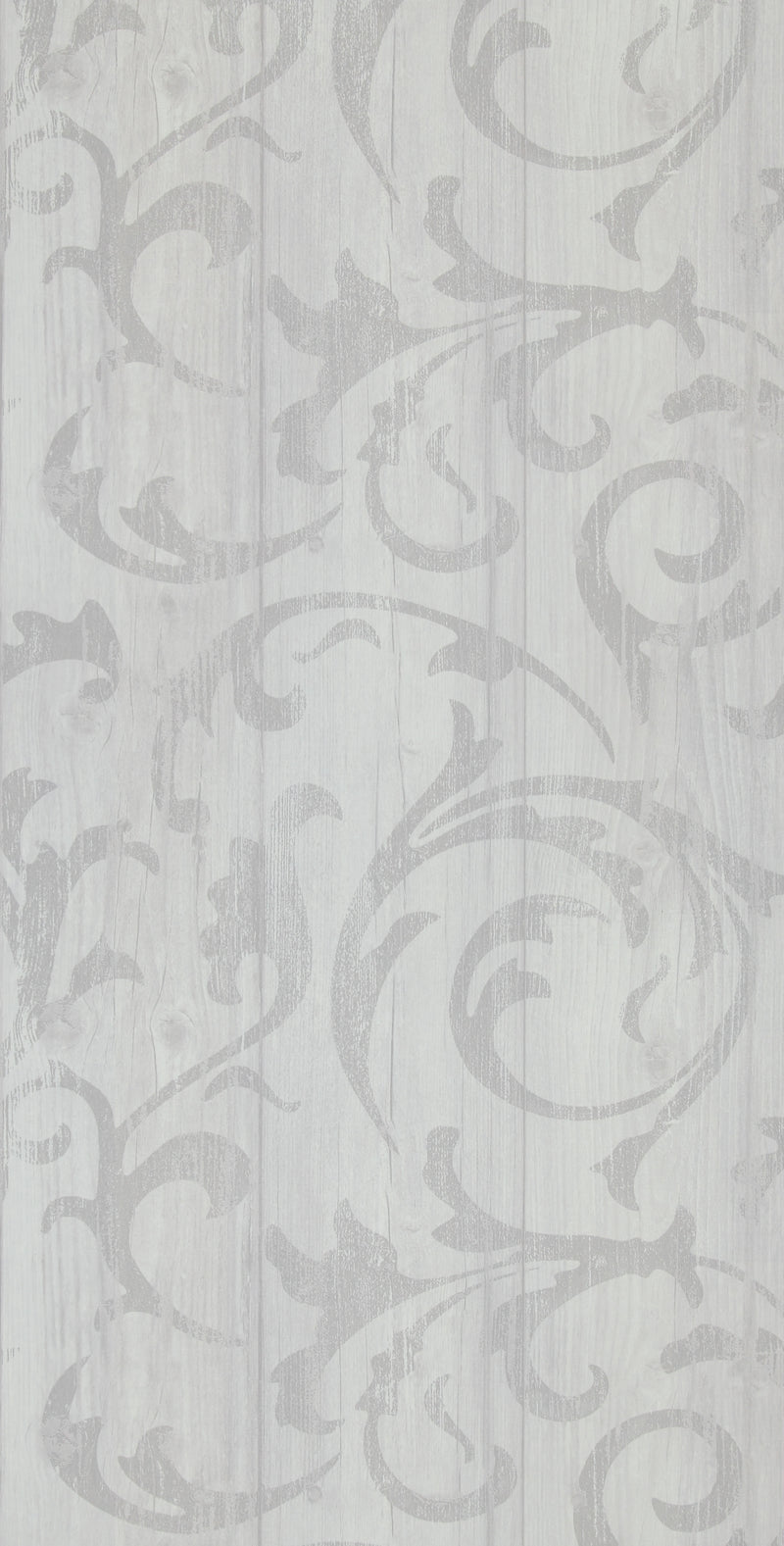 White Twisted Wood Wallpaper R2570