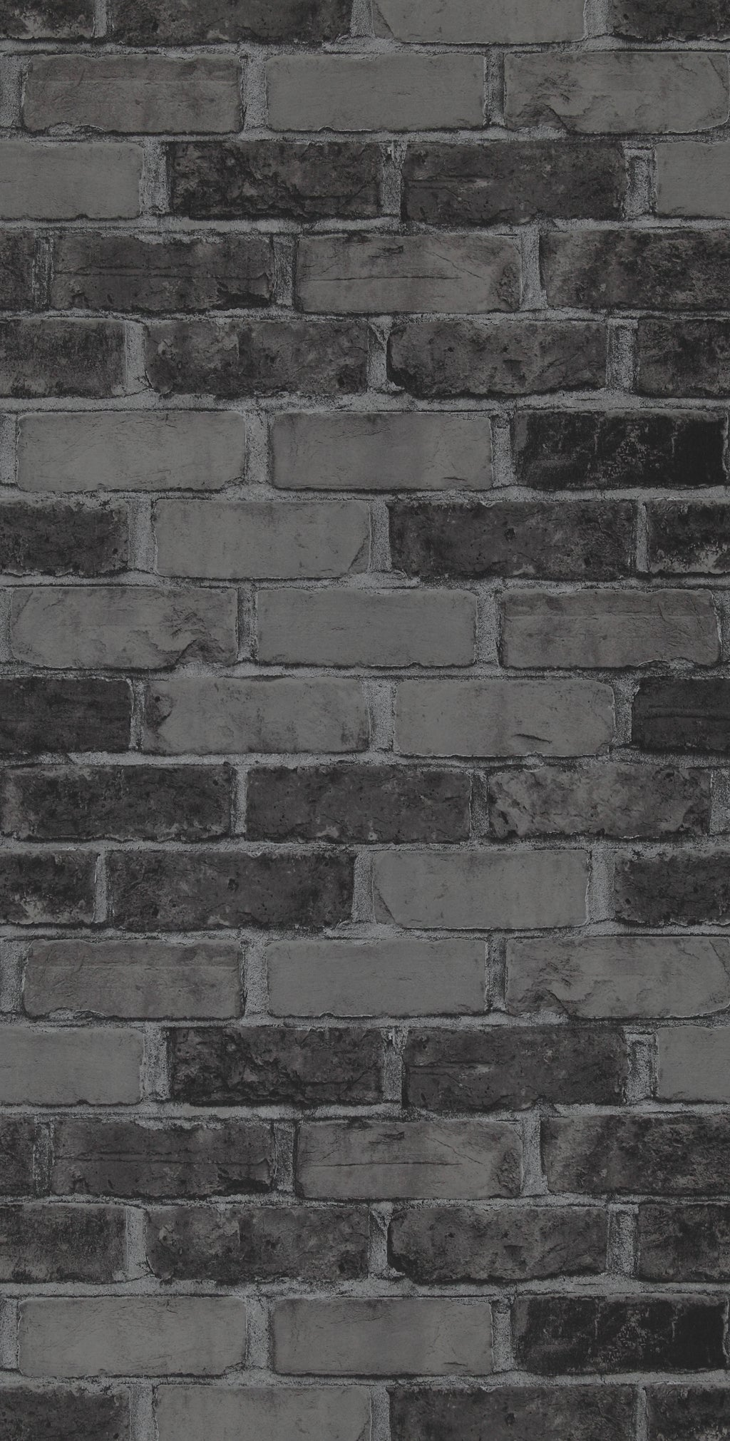 faux brick wallpaper, Dark Faux Brick Wallpaper R2590 | Contemporary Home Wall Covering
