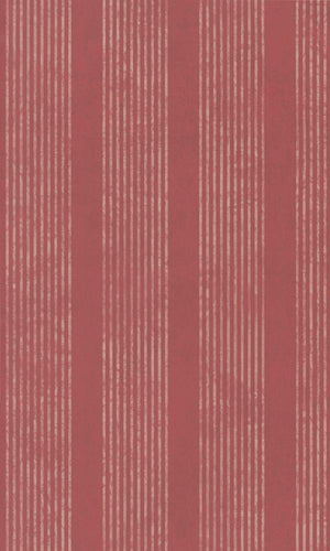 Classic Ribbed And Striped  Red Wallpaper R3975