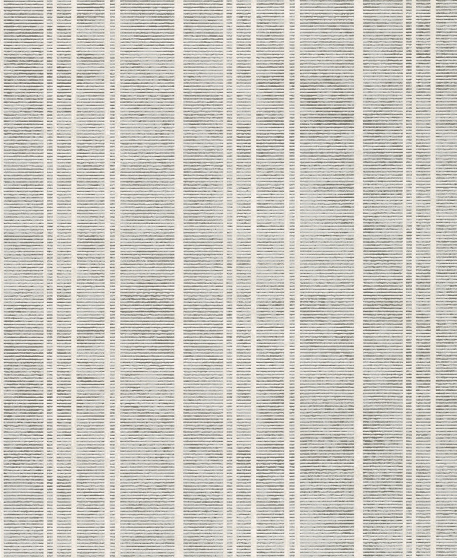 Rustic Ribbed And Striped Metallic Silver Wallpaper R3973