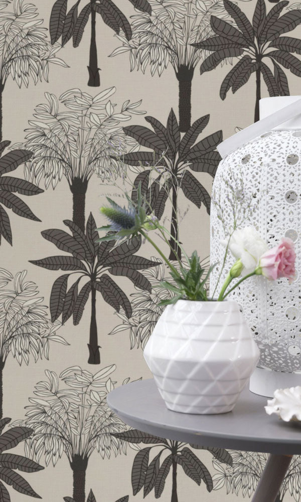 botanical bedroom wallpaper ideas