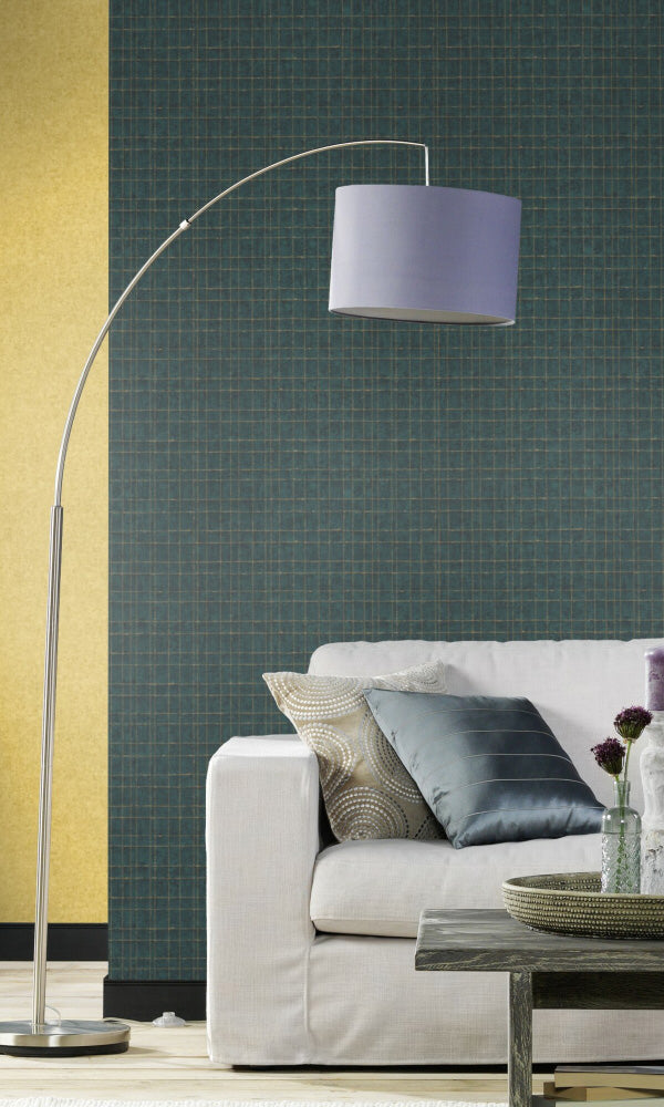 contemporary geometric living room wallpaper