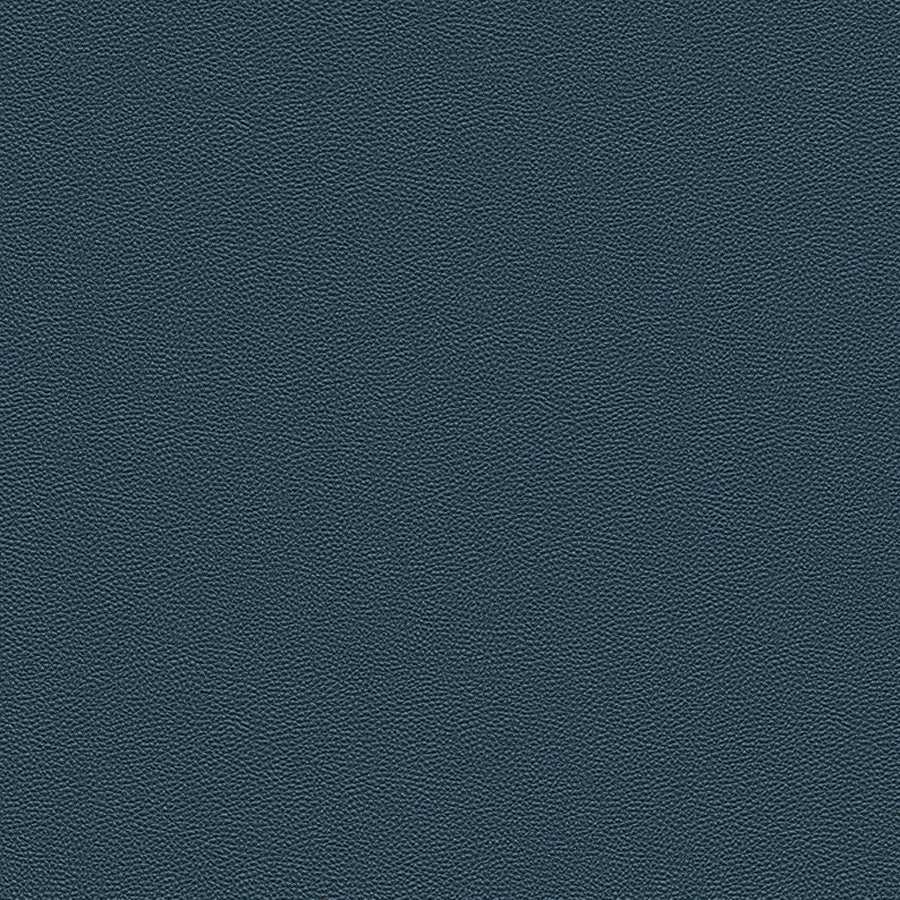 Contemporary Rough Oxford-Blue Leather Wallpaper R3655