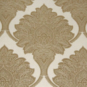 Gold Royalty Damask Wallpaper R3548 | Vintage Home Interior