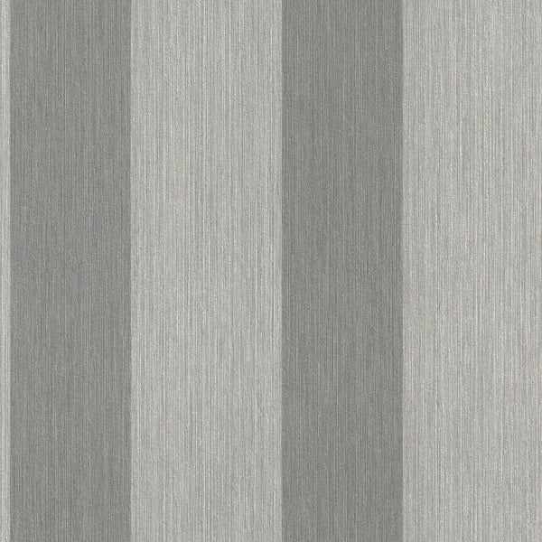Vertical Textured Grey Grazed Stripe Wallpaper R4421