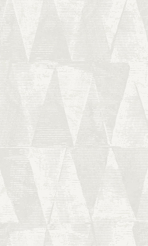 stamped triangles wallpaper