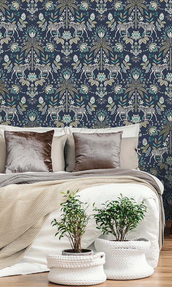 ornamental paisley wallpaper