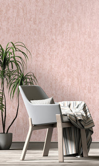 faux metallic weathered wallpaper