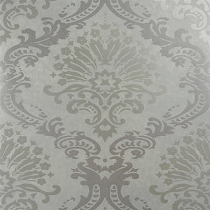 Luxurious Metallic Rich Beige Damask Wallpaper R3885