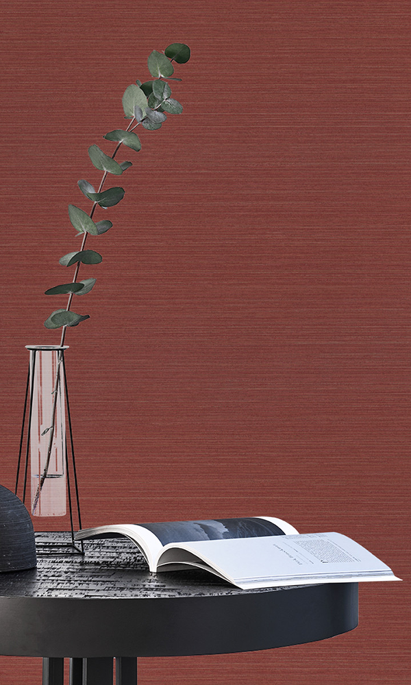 Maroon Textured Commercial Wallpaper C6128