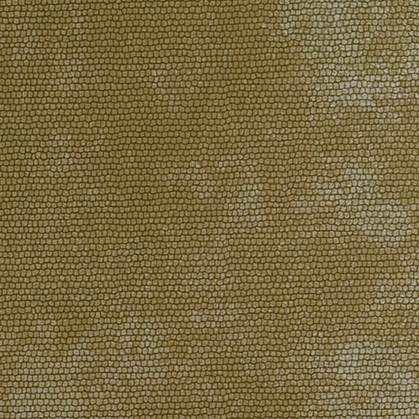 Simplistic Metallic Texture Yellow Snakeskin Wallpaper R3833