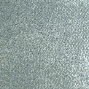 Metallic Contemporary Blue Fish Scale Wallpaper R3841