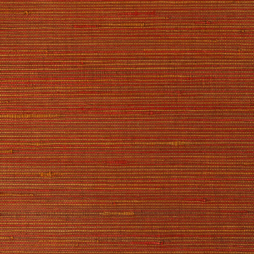 Flex Copper Grass-cloth Woven Wallpaper R1976