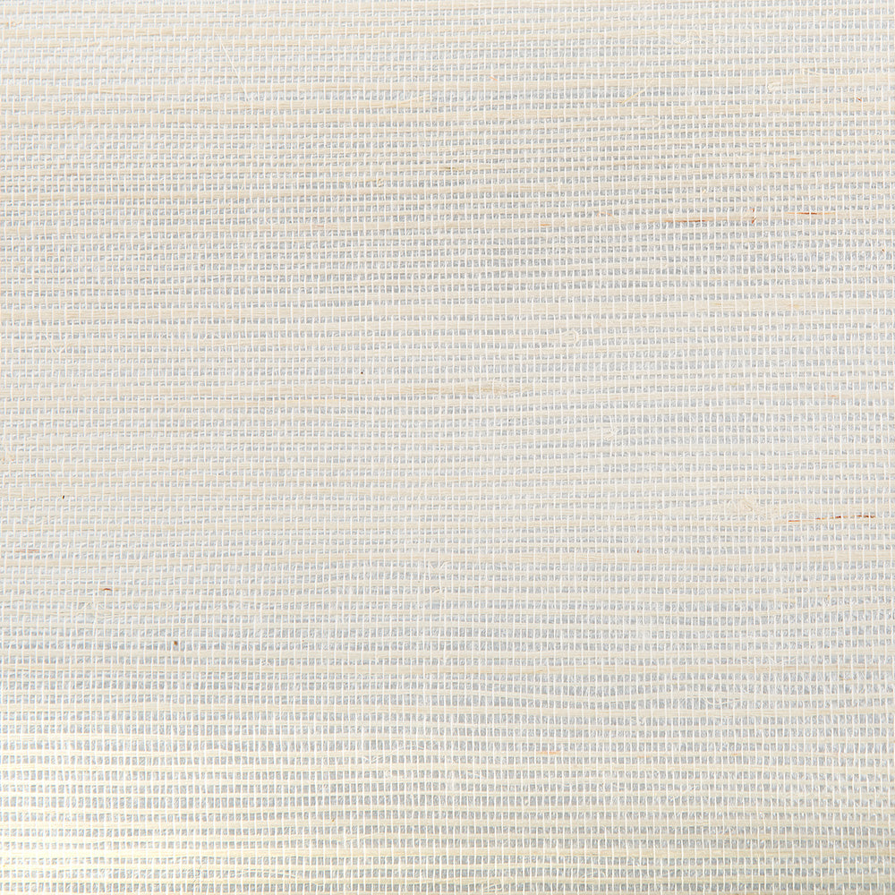Reflection Beige and White Metallic Grasscloth Wallpaper R4631
