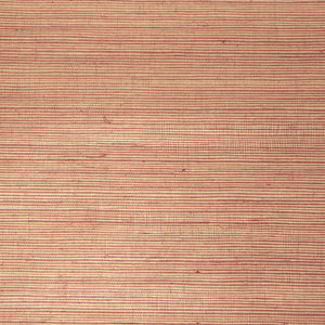 Light Red Metallic Grasscloth Wallpaper R4645 | Elegant Bedroom Design