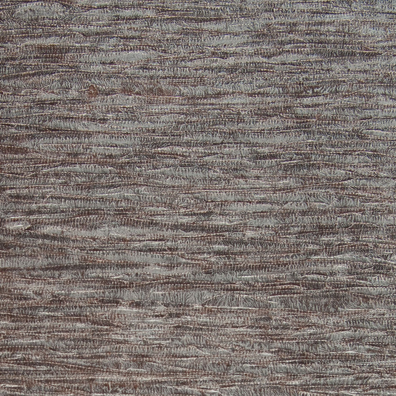 Running Ribbon Metallic Grey and Brown Grasscloth Wallpaper R4602
