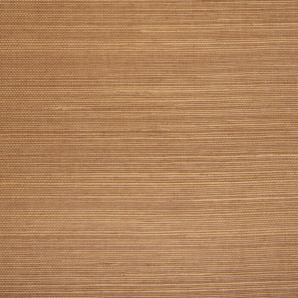 Fine Weave Brown and Beige Grasscloth Wallpaper R4649