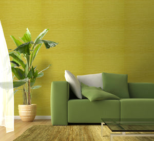Green Ramie Grasscloth Wallpaper R2013