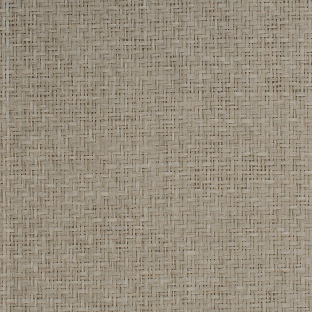 Gray Grasscloth Wallpaper R4628 | Modern Organic Home Wall Covering