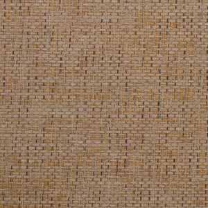 Loose Weave Brown and Orange Grasscloth Wallpaper R4635