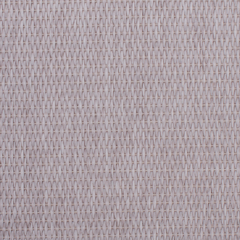 Smoky Basketweave Grey and White Grasscloth Wallpaper R4609