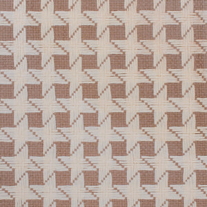 Brown and Beige Starry Basketweave Grasscloth Wallpaper R4610