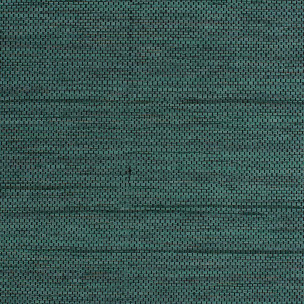 Honeycomb Green & Black Grasscloth Wallpaper R461. Grasscloth wallpaper. Natural wallpaper. Green wallpaper.
