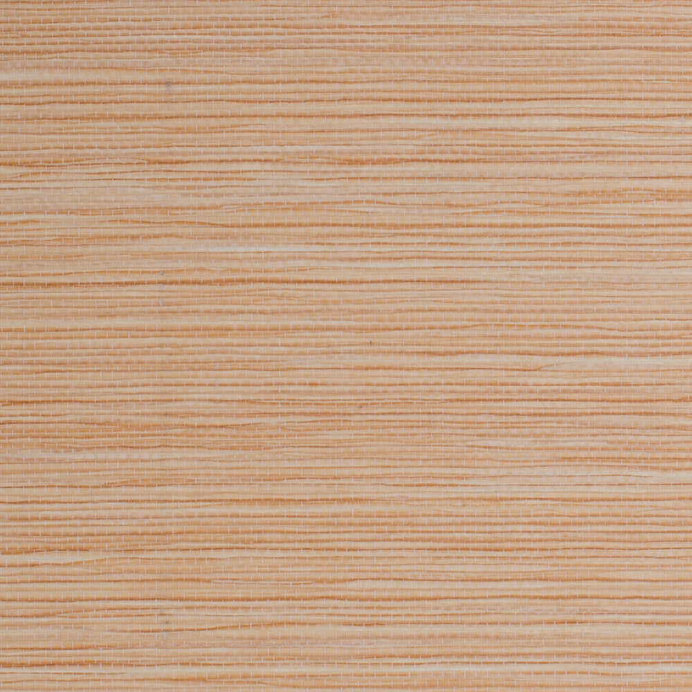 Sunset Gradient Orange and Beige Grasscloth Wallpaper R4617