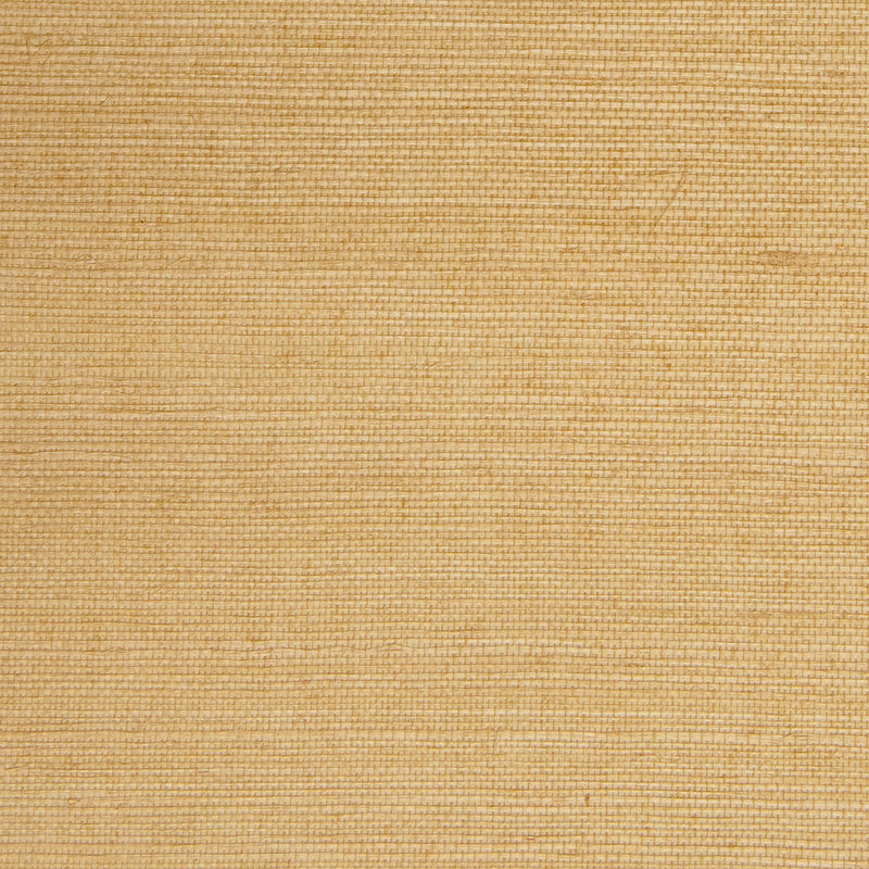 Fine Weave Yellow and Beige Grasscloth Wallpaper R4650