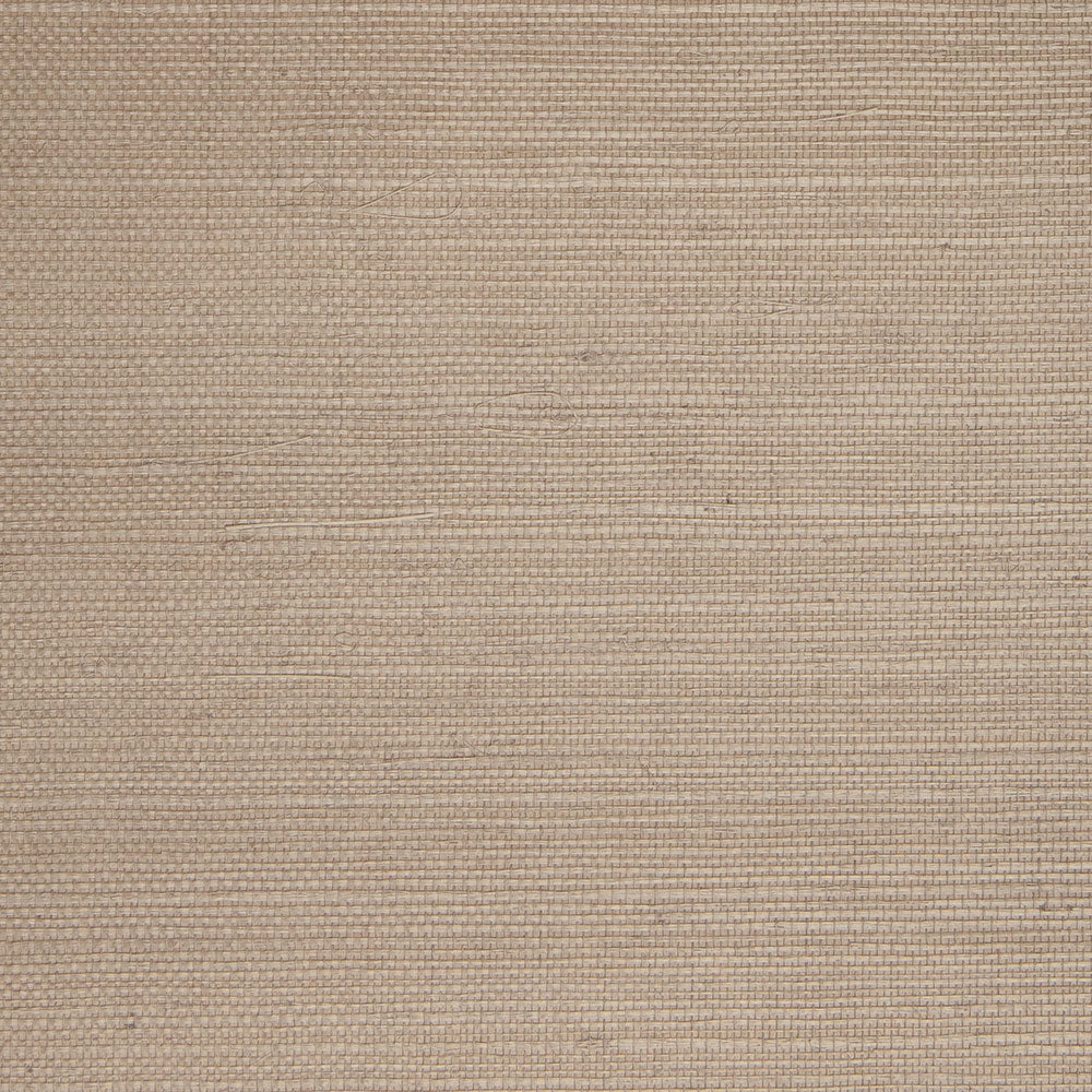 Fine Weave Grey and White Grasscloth Wallpaper R4654