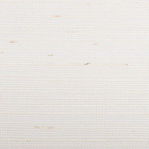 Light Weave White and Yellow Grasscloth Wallpaper R4655