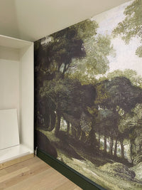 Lush Forest Landscape Mural Wallpaper M9414