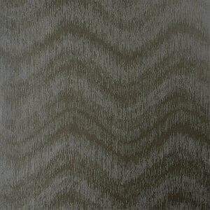Modern Metallic Blurred Wave Grey Wallpaper R3923