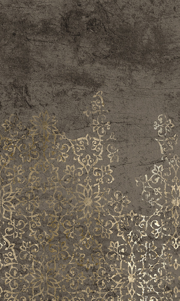 floral ornamental mural wallpaper