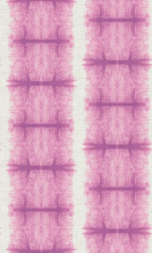 Abstract Pink Tie Dye Canvas Wallpaper R5047 | Vintage Home Interior