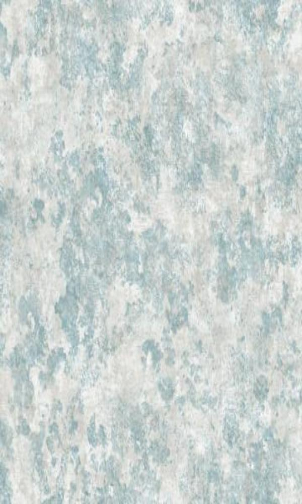 Brushed Concrete Wallpaper Blue and Grey R4854