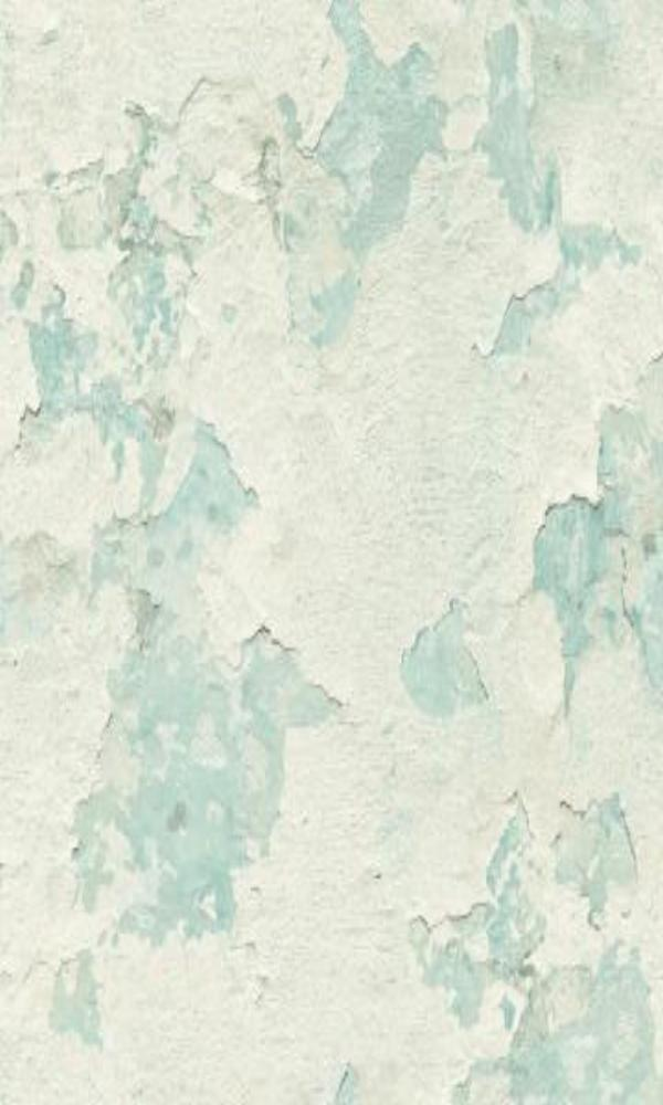 Cloudy Stucco Wallpaper Light Blue and White R4792
