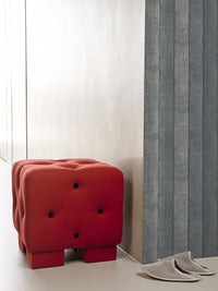 Tan Faux Wood Barrier Wallpaper R1382 | Transitional Kitchen Interior