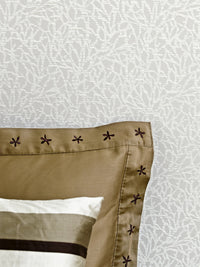 Warm Grey Abstract Coral Wallpaper SR1648 | Vintage Home Interior