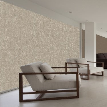 Warm Grey Vintage Wallpaper SR1676 | Metallic Home Wall Covering